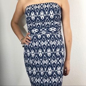 Banana Republic strapless dress size 6